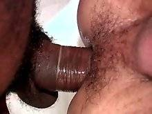 Tough brazilian dude deeply penetrates his lover.