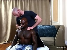 Darion pounds Brendan`s tight ass doggy style but that ass is just too tight and Darion wants to bust his nut immediately. Brendan who doesn`t want th